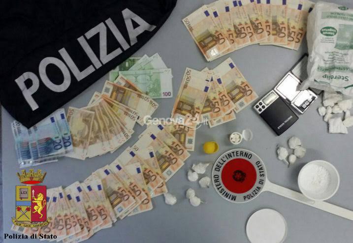 Sequestro di cocaina e contanti