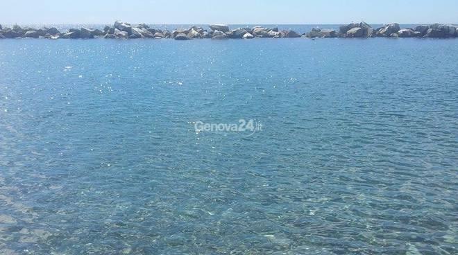 Spiaggia mare a Chiavari