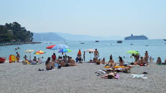 spiaggia santa margherita ligure bagnini
