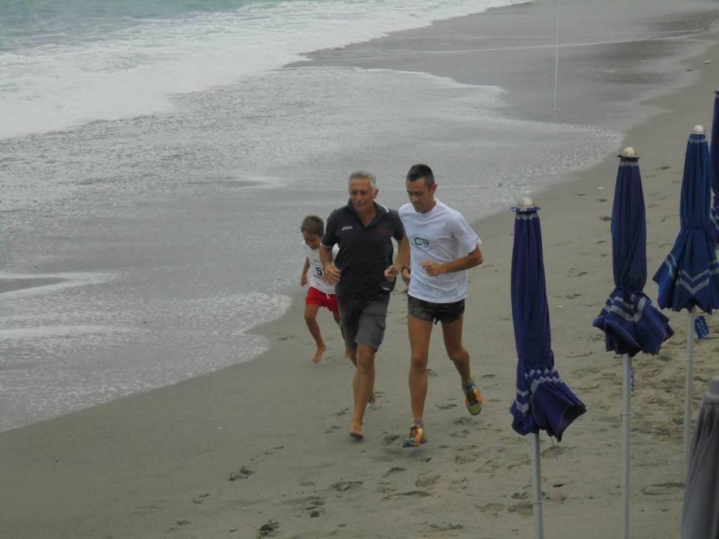 staffetta spiaggia Celle