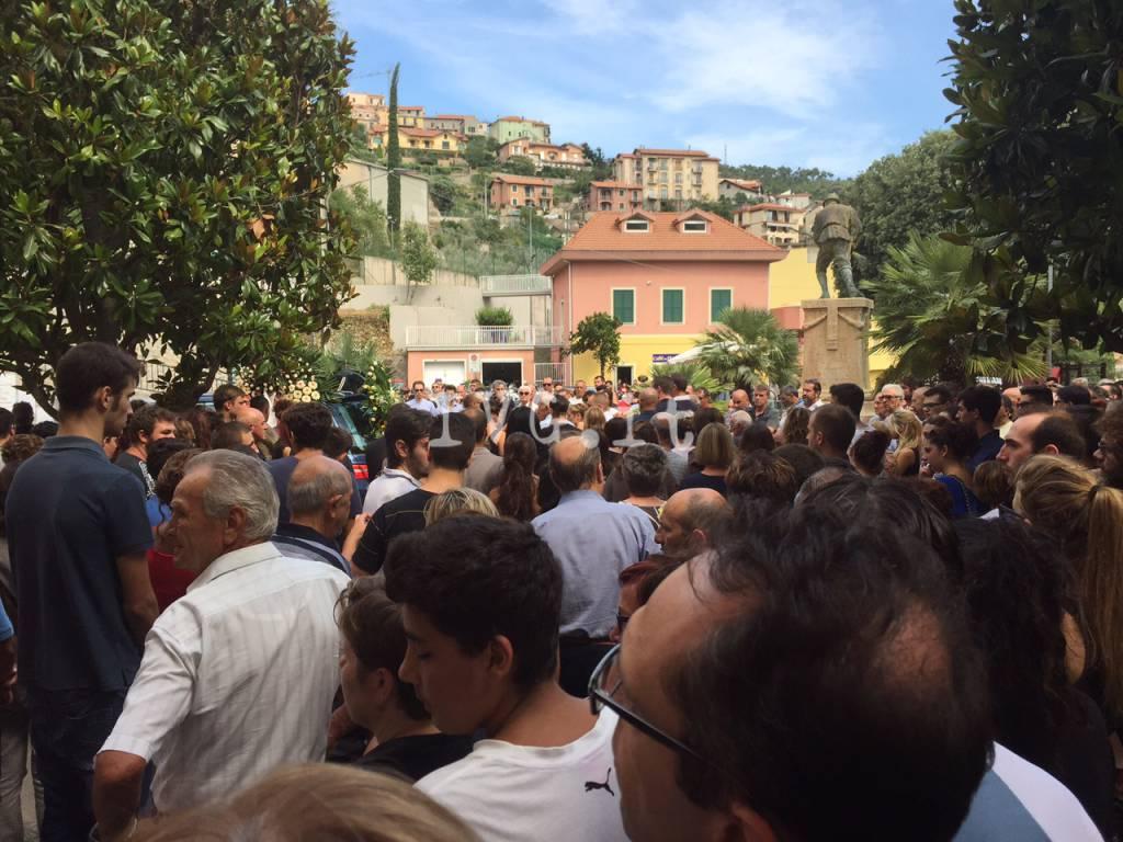 Tovo, i funerali di Denise Aicardi