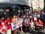 A Genova manifestazione sugli autobus contro l'omofobia