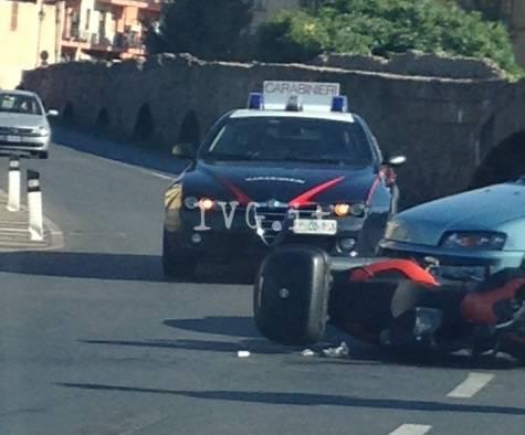 Albenga, incidente tra viale Agricoltura e via Arroscia