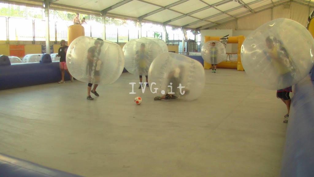 Andora, le immagini del torneo di bubble soccer