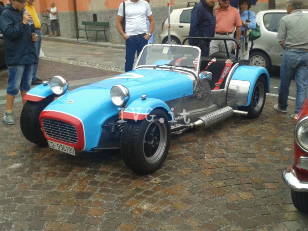 Auto d'epoca a Sassello