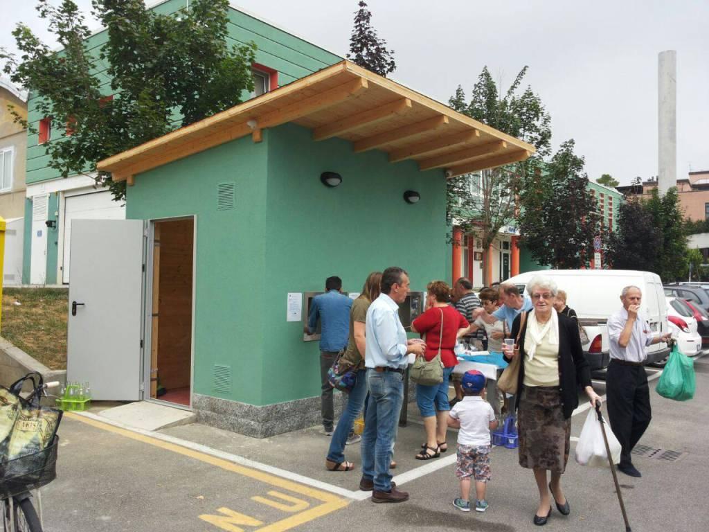 Carcare, inaugurazione casetta dell'acqua