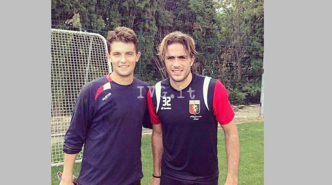 Fabio Zuccheri con Matri