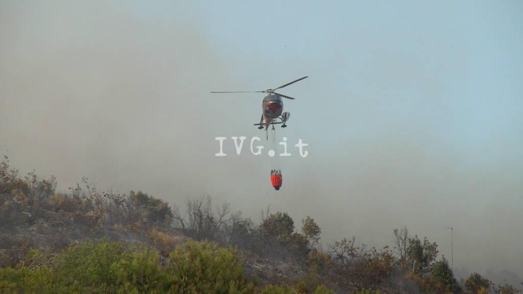Incendio a Spotorno