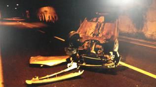 incidente auto ribaltata orco feglino 16 agosto 2015