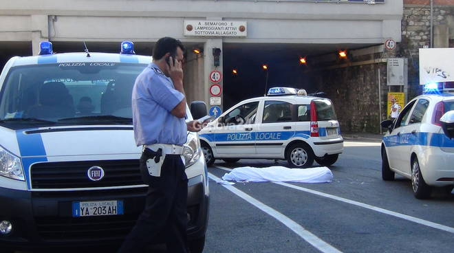 Incidente mortale in Corso Sardegna
