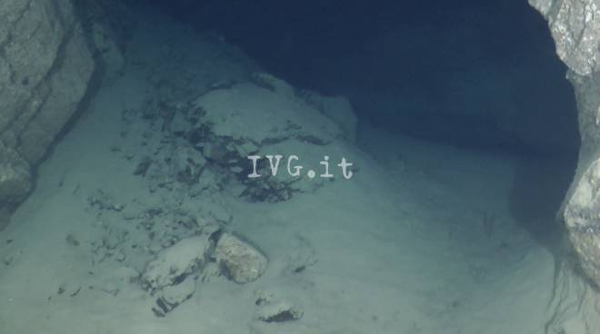 La nuova grotta marina a Bergeggi
