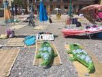 """""""Lettini abusi"""" nelle spiagge libere della Riviera"""