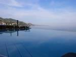 Panorama del Tigullio dalla piscina dell'Excelsior