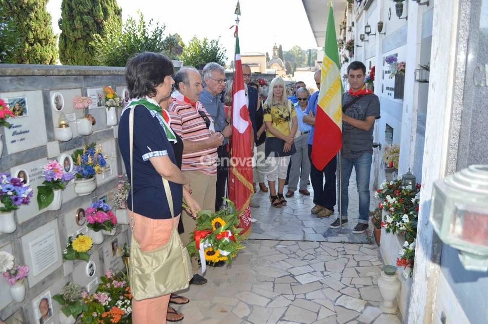 Santa Margherita ricorda il partigiano Berto