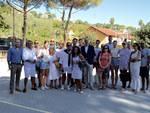 Santa Margherita sopralluogo parco con associazione Ghigo