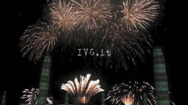 Fuochi artificio Varazze