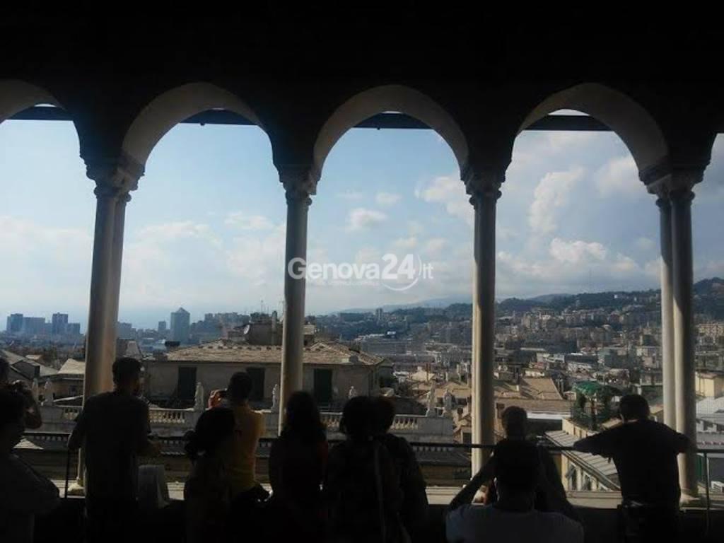 Cattedrale segreta, vista dalla cima di San Lorenzo