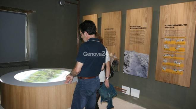 Centro visita il lupo in Liguria