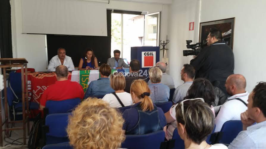Conferenza stampa per lo sciopero del turismo
