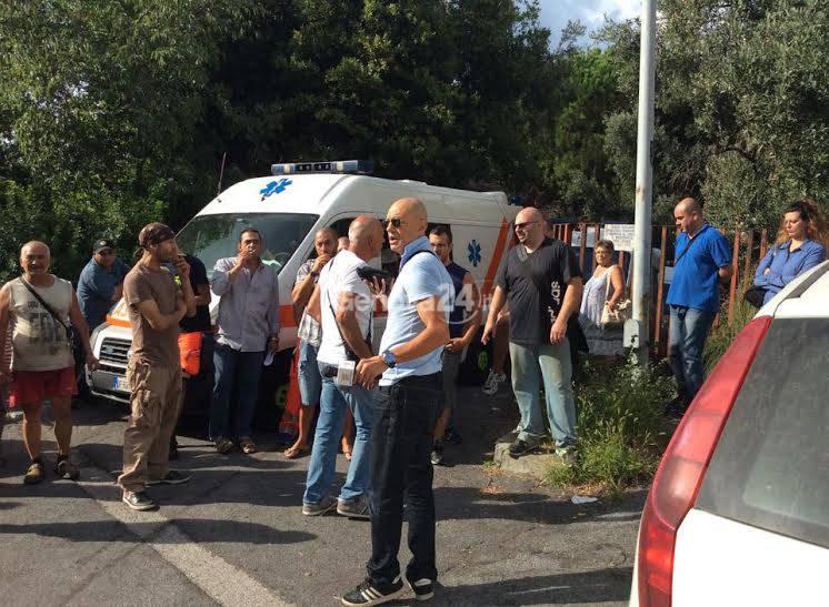 Croce Azzurra Ca' Nova: la protesta contro lo sfratto