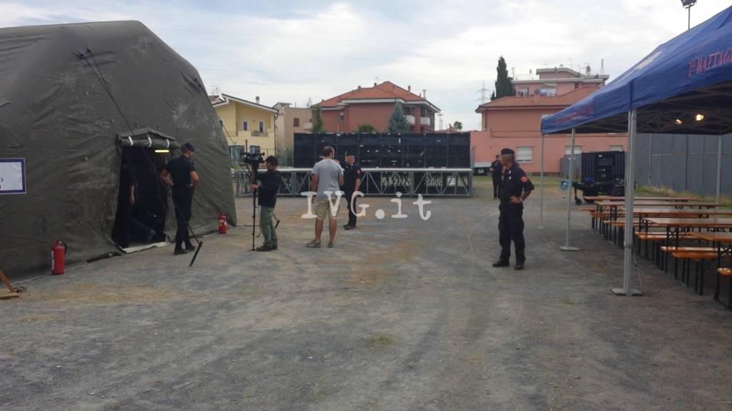 Esercitazione ad Albenga