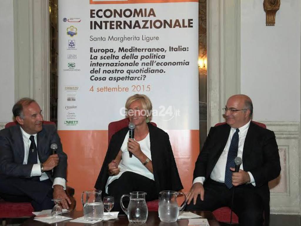 Il ministro Pinotti a Santa Margherita