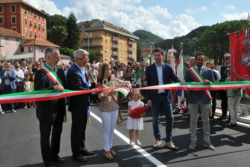 Inaugurazione del ponte di Manesseno