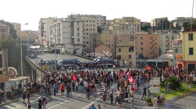 Inaugurazione sede Forza Nuova a Genova