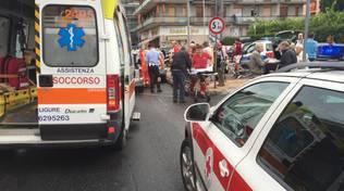 Incidente sulla via Aurelia a Loano