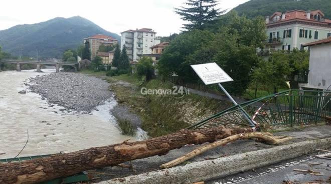 Nubifragio a Montoggio