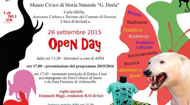 Open Day al Museo di Storia Naturale