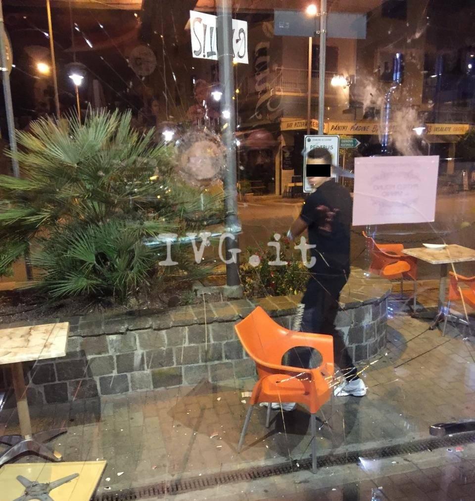 Raid vandalico a Loano