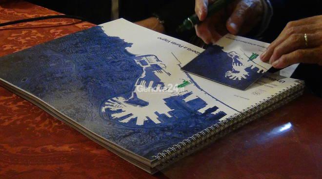 Renzo Piano dona il Blue print a Comune, Regione e autorità portuale