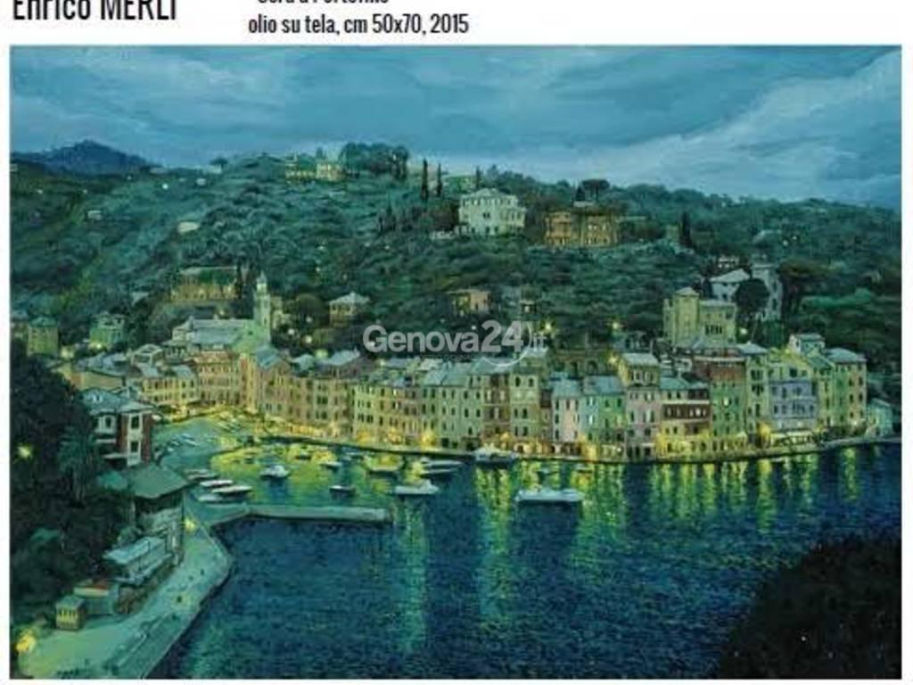 """""""Sera a Portofino"""" di Enrico Merli"""