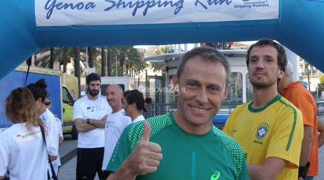 Stefano Baldini alla Shipping run