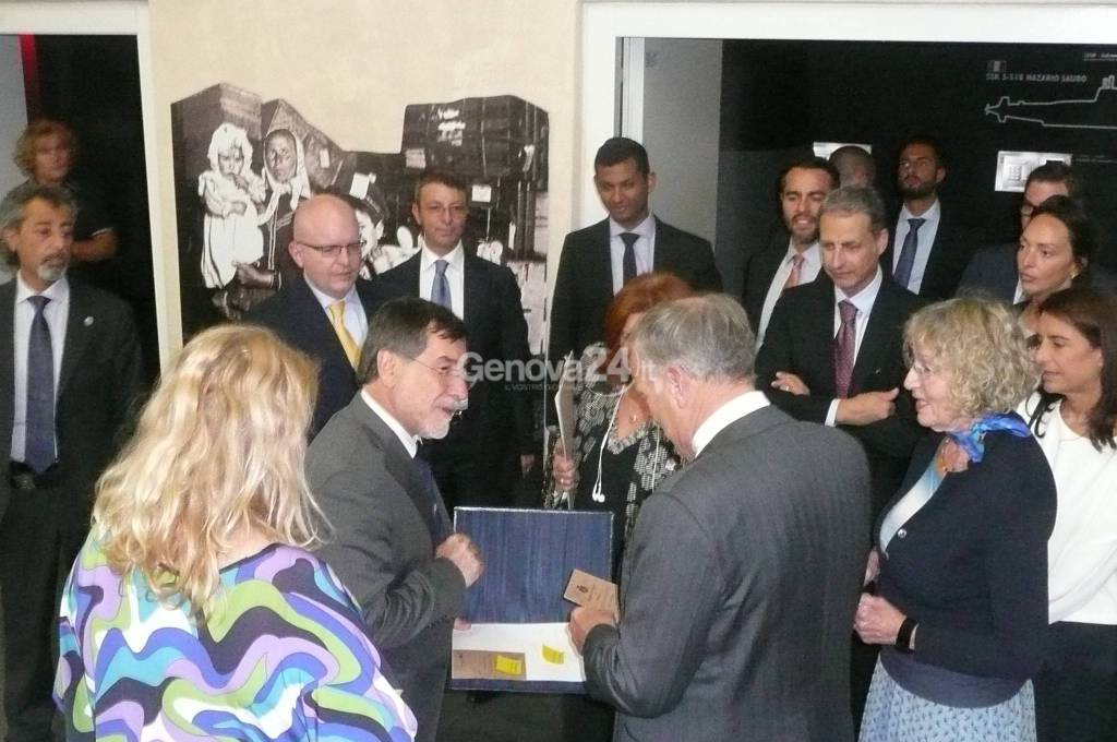 Visita ambasciatore americano a Genova