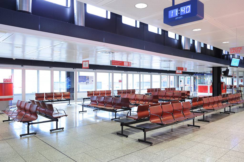 aeroporto di Genova  interno