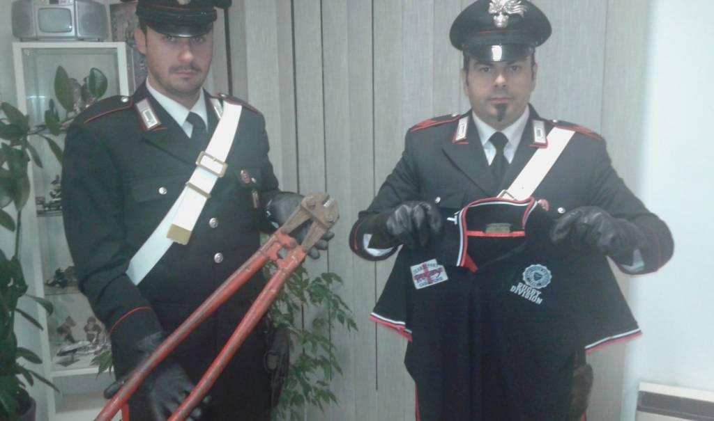 """Albenga, la """"banda delle biciclette"""" inchiodata dai carabinieri"""