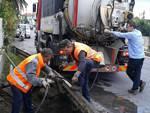 Albenga lavori di messa in sicurezza dei canali