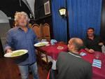 Beppe Grillo alla cena del M5S