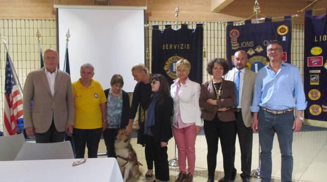 cane guida Lions Club Loano