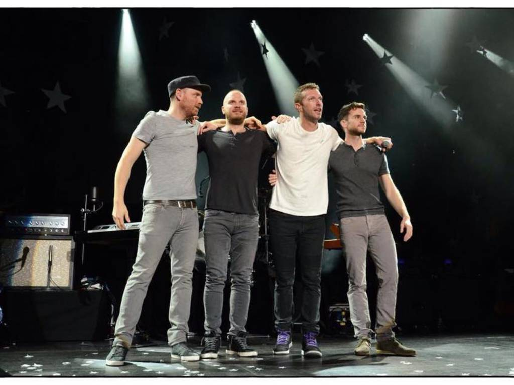 Coldplay (Foto della pagina ufficiale di Facebook)