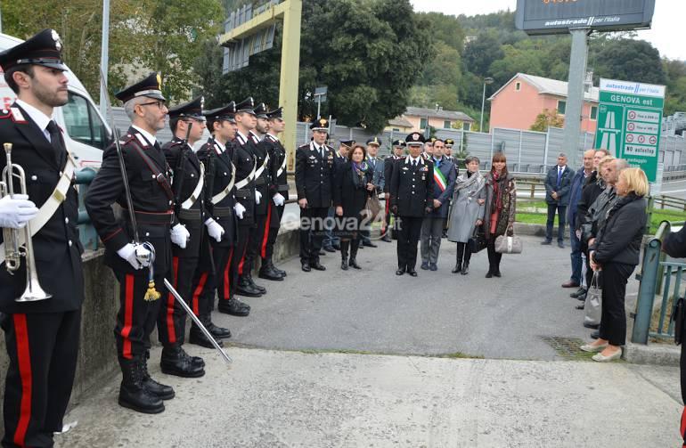 Commemorazione del brigadiere Volpi