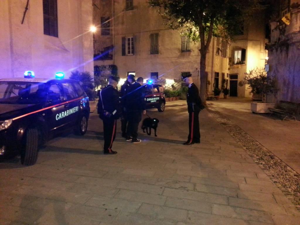 Controlli antidroga dei carabinieri ad Albenga e Finale