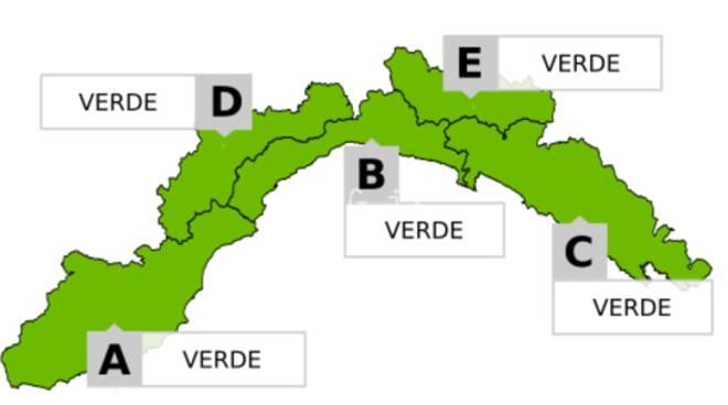 Allerta Verde Liguria
