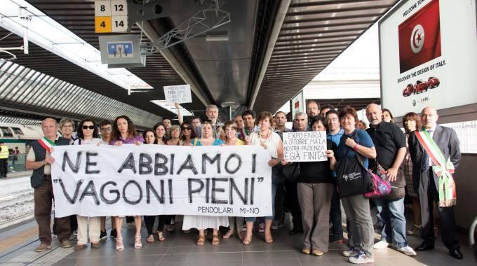 Protesta Pendolari Paolo Forzano