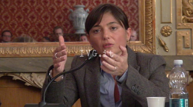 Debora Serracchiani a Savona