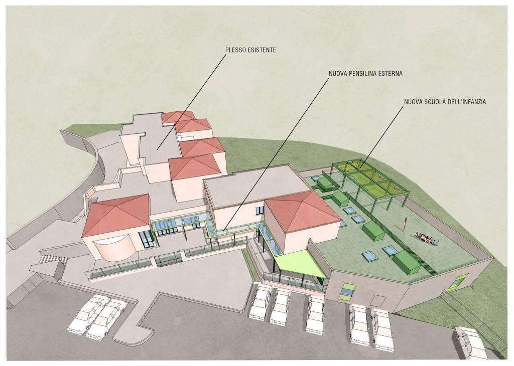 Ecco come saranno le nuove scuole di Braiassa