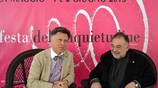 Edoardo Boncinelli (destra) Valerio Meattini