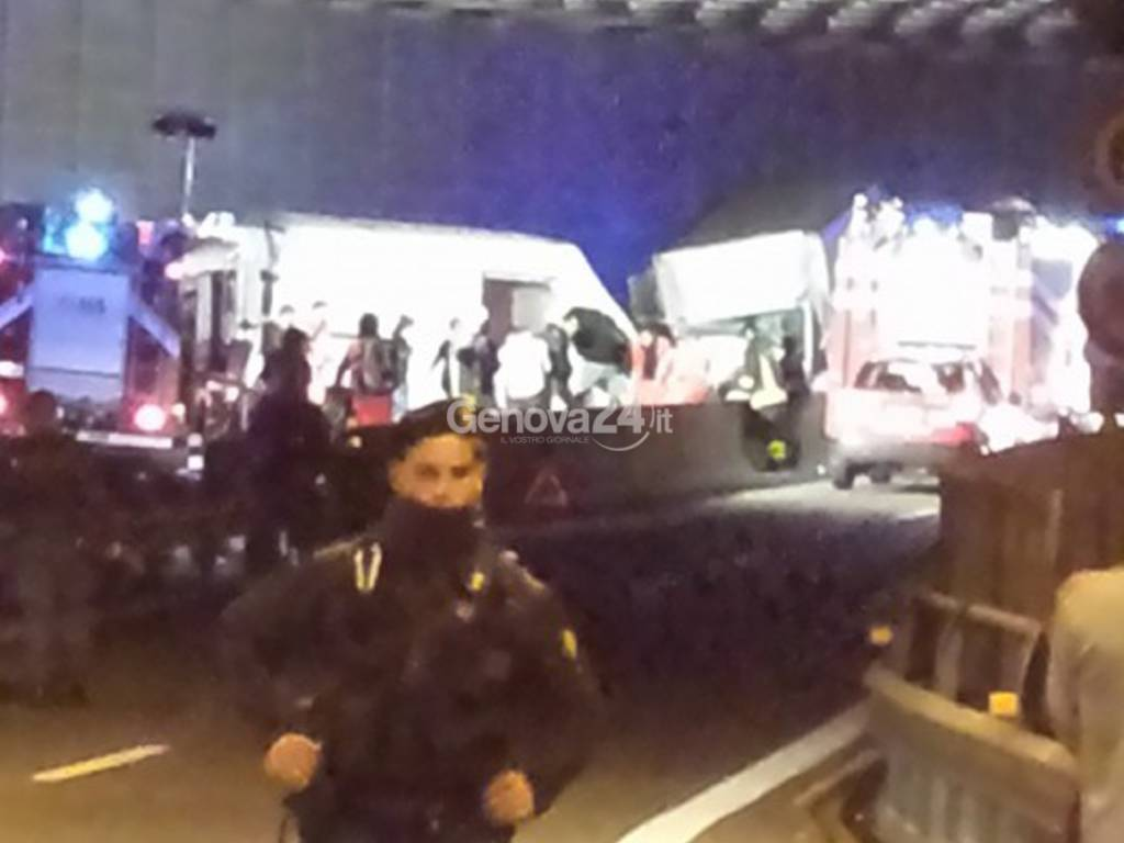 Incidente a Genova Ovest